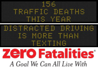 Zero Fatalities Message Monday - July 28, 2014