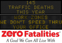 Zero Fatalities Message Monday - July 14, 2014