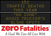Zero Fatalities Message Monday - July 21, 2014