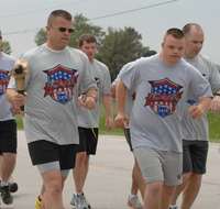 Iowa DOTers carry the torch to kick off Special Olympics Iowa