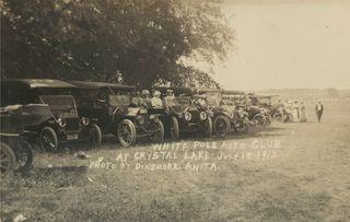 White Pole Auto Club meeting