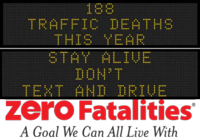 Zero Fatalities Message Monday - August 25, 2014