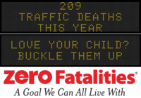 Zero Fatalities Message Monday - Sept. 15, 2014