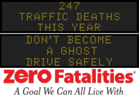 Zero Fatalities Message Monday - Oct. 27, 2014