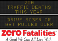Message Monday- Aug. 24, 2015 - Drive Sober or get pulled over