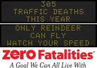 Message Monday - Dec. 21, 2015 - Only Reindeer Can Fly, Watch Your Speed