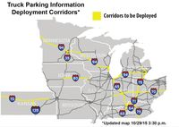 Regional truck parking information system gets major boost with federal grant