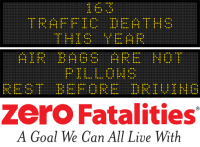 Message Monday - June 27, 2016 - Air bags are not pillows. Rest before driving