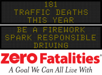 Message Monday - July 4, 2016 - Be a firework. Spark responsible driving