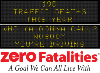 Message Monday - Who ya gonna call? NOBODY - you're driving!