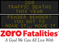 Message Monday - Fender bender? You got to move it... move it