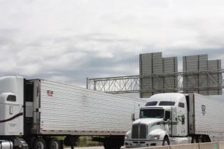I-80 truck traffic
