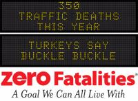 Message Monday - Turkeys say