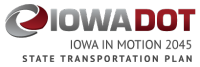 Iowa in Motion 2045 - Data analysis is in line with public comments on long-range planning
