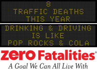 Message Monday- Drinking & Driving is like Pop Rocks & cola