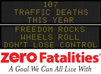 Message Monday - Freedom Rocks, Wheels Roll... don't lose control