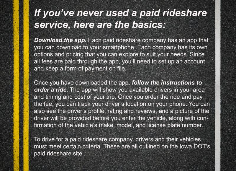 Rideshare basics