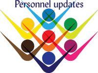 Personnel Updates for Nov. 3 – Nov. 16, 2017