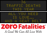 Message Monday - All you need is love ... and a seat belt