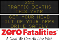 Zero Fatalities Message Monday - Sept. 29, 2014
