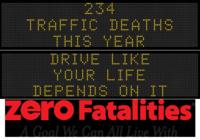 Zero Fatalities Message Monday - Oct. 13, 2014