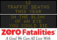 Zero Fatalities Message Monday - Jan. 26, 2015