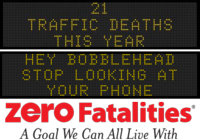 Zero Fatalities Message Monday - Feb. 9, 2015
