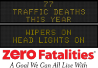 Message Monday - April 27, 2015 - Headlights on, wipers on