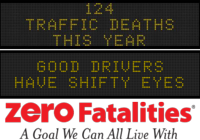 Message Monday - June 22, 2015 - Good drivers have shifty eyes