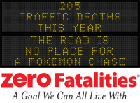 Message Monday - The road is no place for a Pokemon chase