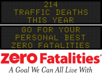 Message Monday - Go for your personal best - Zero Fatalities