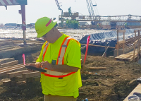Improving accountability in the construction process with eTicketing for concrete loads