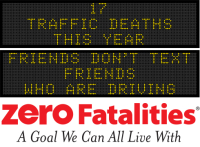 Message Monday - Friends don't text friends who are driving