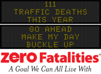 Message Monday - Go ahead, make my day - Buckle up