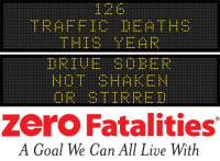Message Monday - Drive sober, not shaken or stirred