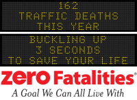 Message Monday - Buckling up - 3 seconds to save your life