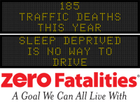 Message Monday - Sleep deprived is no way to drive
