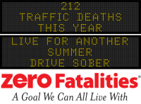 Message Monday  - Live for another summer - drive sober