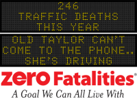 Message Monday - Old Taylor can't come to the phone...she's driving