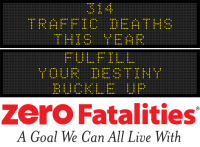Message Monday - Fulfill your destiny. Buckle up