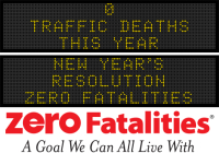 Message Monday - New Year's Resolution ... Zero Fatalities