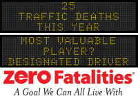 Message Monday - Most valuable player? Designated Driver