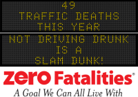 Message Monday - Not driving drunk is a slam dunk