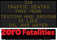 Zero Fatalities Message Monday - Dec. 15, 2014