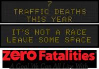 Zero Fatalities Message Monday - Jan. 19, 2015