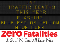 Message Monday - July 20, 2015 - Flashing blue, red or yellow - Move Over