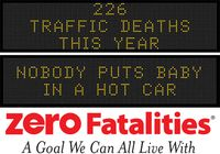 Message Monday - Sept. 14, 2015 - No one puts baby in a hot car