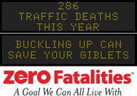 Message Monday - Nov. 23, 2015 - Buckling up can save your giblets