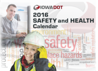 More than just a wall decoration - the 2016 Safety Calendar