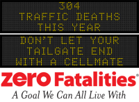 Message Monday - Don't let your tailgate end with a cellmate